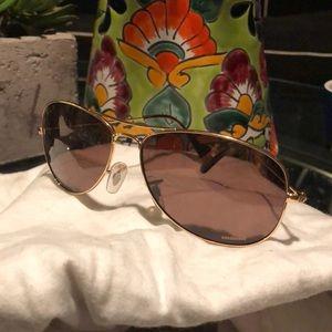 Ray Ban Chromance Gold Frame Sunglasses